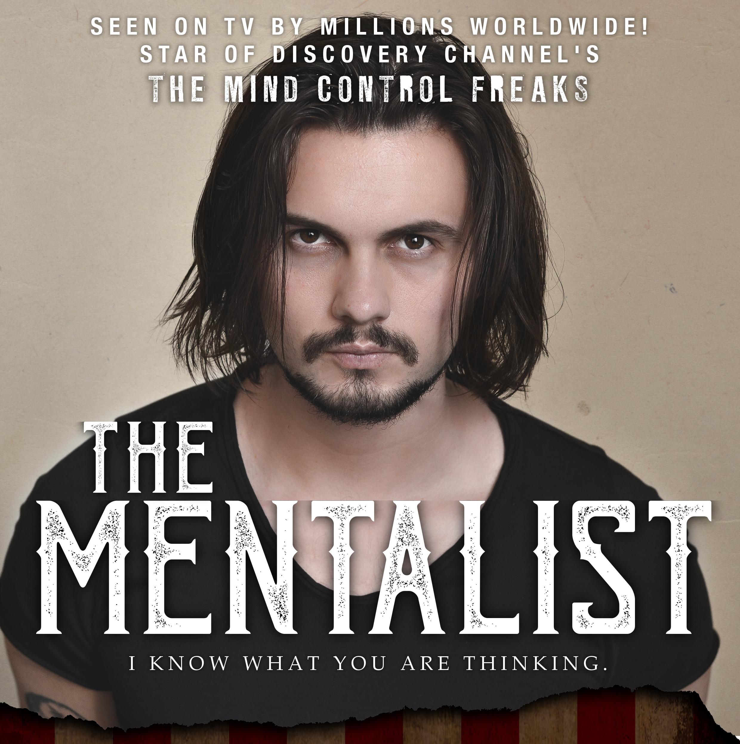 'The Mentalist' är en underhållande, minnesvärd och magisk show !